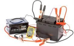 Обслуживание и проверка аккумуляторов, зарядка, подзарядка
