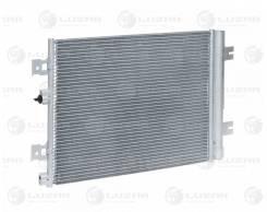 Радиатор кондиц. с ресивером для а/м Lada Largus (12-)/Renault Logan (08-) LUZAR 'LRAC0961