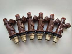 Инжекторы Toyota 23209-62040 комплект 6 шт.