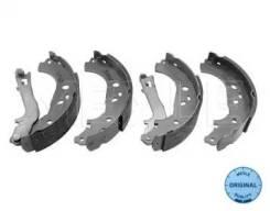 Колодки барабанные!   Fiat Doblo/Idea, Lancia Musa 1.4/1.3D-1.9JTD 02> 214 533 0006_ [2145330006]