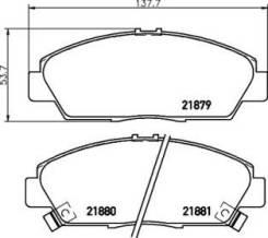 Колодки тормозные Honda Accord/Prelude -98 перед. NP8016