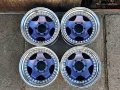 Лёгкие 3-х составные диски BERG R16 (6x139.7 мм). 4 шт