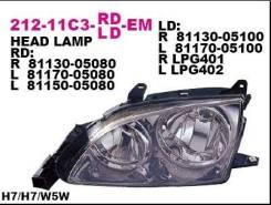 Фара передн прав с ЭК DEPO 212-11C3R-LD-EM