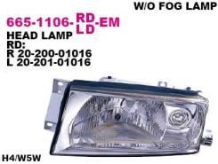 Фара передн прав DEPO 665-1106R-LD-EM