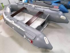 Надувная лодка X-River Rocky 375 Air, мореходная и легкая, БУ
