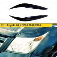 Реснички на фары для Toyota Ist NCP60