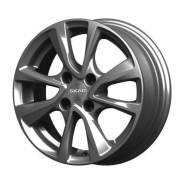 Диск колесный 14x5,5 4x100 ET35 d.67,1 Скад Ницца графит