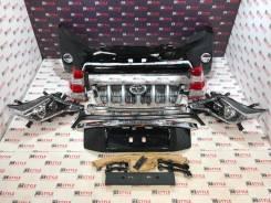 Рестайлинг 13-17 Toyota Land Cruiser Prado 150 черный