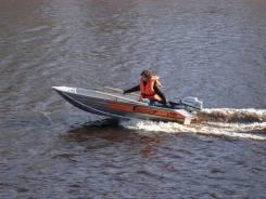 Алюминиевая лодка Wellboat-33.