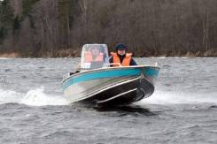Алюминиевая лодка NewStyle-411 консоль.