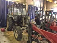 Ремонт и техническое обслуживание тракторов МТЗ