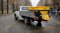 Пескоразбрасыватели Snowex с бункером 1.5 м3 в кузов автомобиля
