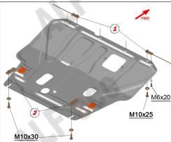 Защита картера Nissan Wingroad / AD 12 кузов 2005-2018г