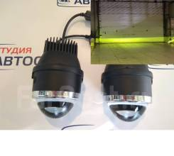 Туманки, Светодиодные линзы Optima LED FOG Lens свет желто-зелен. 3800