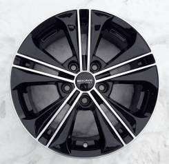 Диск колесный 16x6 5x114,3 ET43 d.67,1 К&К КС778 (16_Creta) алмаз черный