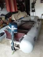 Лодка Фрегат с мотором