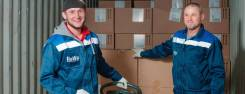 Услуги грузчиков на склад, переездов в магазины