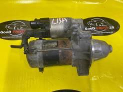 Стартер L13A. Honda Fit GE6.