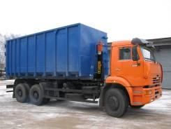 Шасси Камаз 6520-3072-53 Евро-5) (нав. Hyvalift) мультилифт АС-20Д (63370) (на