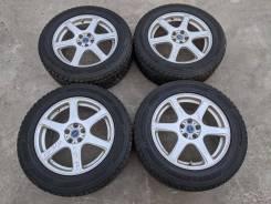 "Комплект литых дисков Bridgestone FEID - 17"", 7JJ, 5x100, ET +53"
