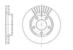 Диск тормозной G-Brake GR-02551
