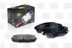 Колодки тормозные дисковые передние | перед | Trialli PF083402