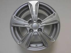 Диск колесный КС777 (ZV 15_Solaris I) 6x15 ЕТ 48 4x100 54,1 сильвер Арт.74080
