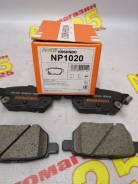 Колодки тормозные дисковые Nisshinbo NP1020 [PF-1519]