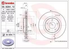 Диск тормозной UV Coated перед Brembo 09N26411