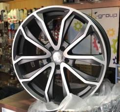Диск колесный Диск литой 9.5х22 5x112 ЕТ28 dia 66.6 RR CSS9529 MK-P/M