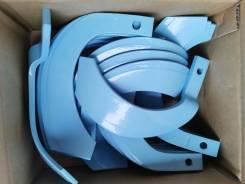 Комплект японских ножей для почвофрезы (голубые) на трактор Yanmar F5.