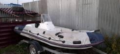 Продам лодку с телегой Yamaran B410R