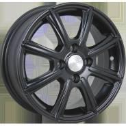 Диск колесный Диск литой 5.5х14 4x98 ЕТ38 dia 58.6 Скад Монако черный-бархат 1670025
