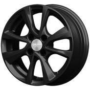Диск колесный Диск литой 5.5х14 4x100 ЕТ35 dia 67.1 Скад Ницца черный-бархат 2950125