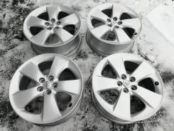 Оригинальные литые диски Toyota R17, 5/100 Made in Japan