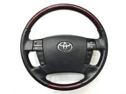 Оригинальный обод руля с косточкой под красное дерево Toyota