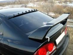 Козырек с зубьями на заднее стекло Honda Civic 4D (Хонда Цивик) седан