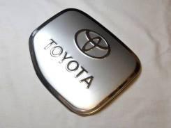Накладка на лючок бензобака для Toyota Land Cruiser Prado