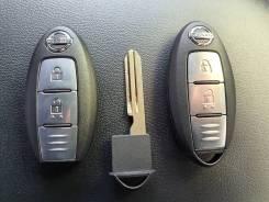 Смарт ключ nissan левый руль 433Mgz (запись в авто)