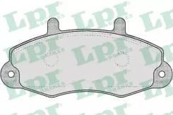 Комплект тормозных колодок 05P481 LPR 05P481