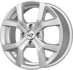 Диск колесный k7 K-147 6x15 ЕТ 45 4x100 54.1 Серебро S Арт.14702SК