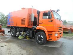 КО - 318 Д на шасси КАМАЗ-53605 вакуумная подметально-уборочная (пылесос)