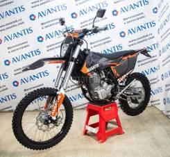 Кроссовый мотоцикл Avantis (Авантис) Enduro 250 21/18 (172 FMM Design черный KT 2020) с ПТС