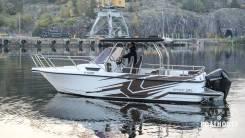 Катер скоростной Nord Star 25 T-Top с мотором