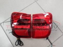 Катафоты, LED фонари в задний бампер Land Cruiser 200 07-15 стиль 16