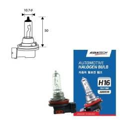 Лампа головного света Avantech H16 12V 19W