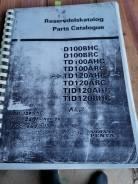 Каталог запасных частей дизеля Volvo Penta D100; TD100; TD120; TID120