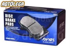 Колодки пер. Advics Toyota Dyna/ToyoAce 97- Coaster HZB40 93- Delta 95-