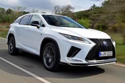 Обвес передний F-Sport на Lexus RX 300/350/350l/450h/450hl 2019+