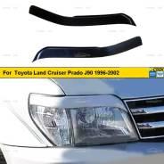 Реснички на фары для Toyota Land Cruiser Prado J90